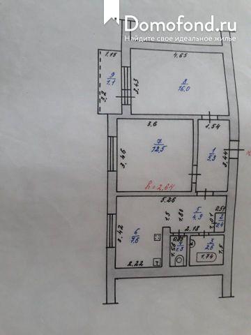 2-комнатная квартира на продажу город знаменск domofond.ru